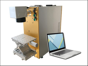 Mopa 20W color fiber laser marking machine