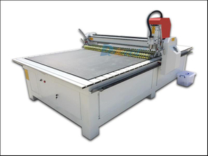 Car Mat rotating knife cutting machine