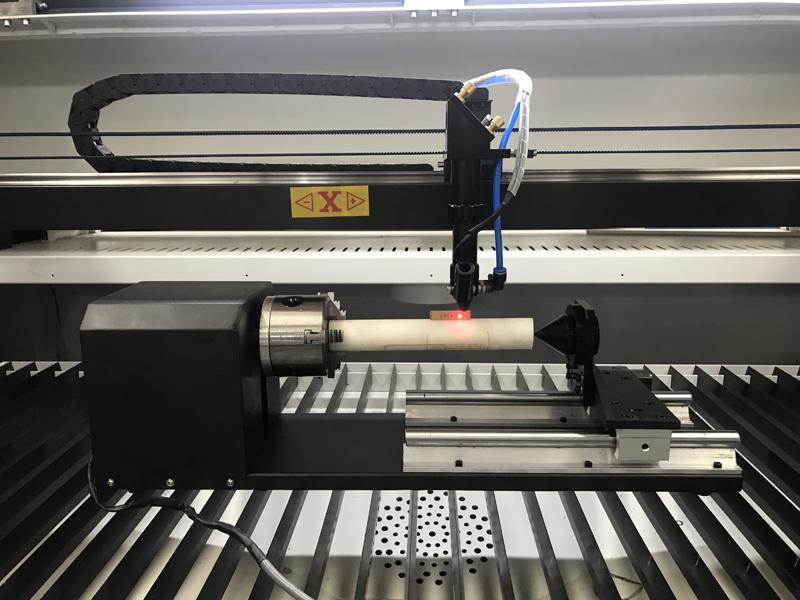 co2 laser cutting machine rotary system