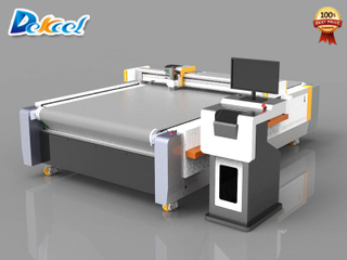 Tanged Graphite Gasket CNC Knife Cutting Machine