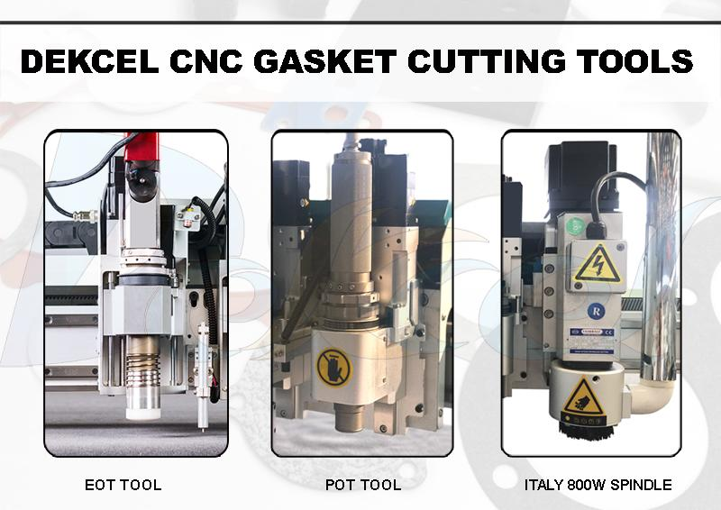 cnc gasket cutting machine tools
