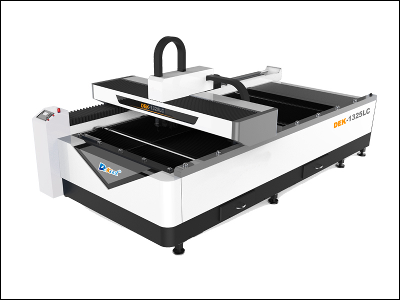DEK-1325LC Metal fiber sheet laser cutting machine with Co2 non-metal cutting for sale