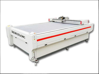 Anti-static PVC Vinyl Strip Curtains Vibration Knife Cutting Machine