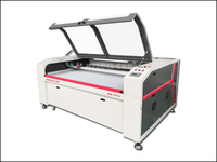 China laser cutter manufacturer for cutting cloth 1812
