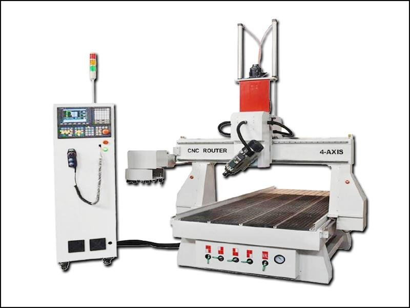 4 Axis Wood Mould Carving and Engraving ATC CNC Router Machine Price