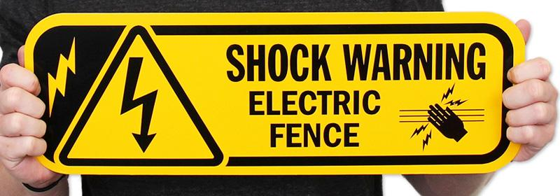 Beware of electric shock for cnc engraving router machine
