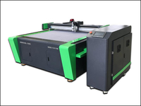 China PVC PE Vinyl Fabric Oscillating Knife Cutter Plotter Machine