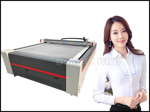 Operation advantages of oscillation knife cutting plotter for carton box