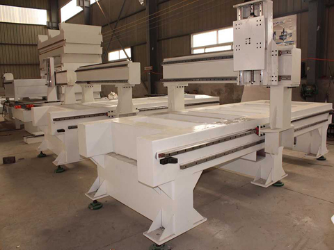 How to choose wood engraving cutting cnc router's lathe bed?
