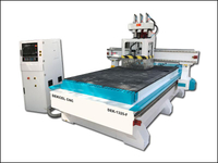 Three spindle wood furniture cnc router machine 1325
