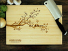 Cnc Co2 laser engraving cutting router machine for customized wood cutting board